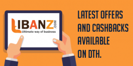 Latest offers and cashback available on DTH - Libanz
