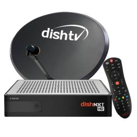 DishNXT HD Box With Super Family HD Pack-image