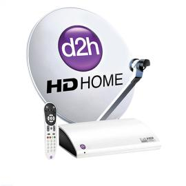 Videocon d2h HD RF Box With HD Gold Combo Pack-image