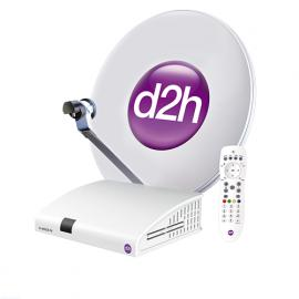 Videocon d2h Digital Box With Silver Combo Pack-image